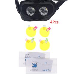 4 Pcs/set VR Lens Protector Dust Proof for Oculus Quest/ Rift S one size