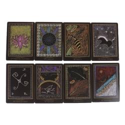 45pcs Shamanic Healing Oracle Cards Tarot Card Playing Cards Par one size