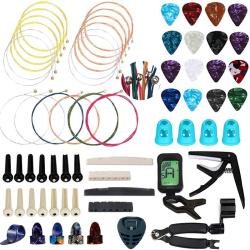 66PCS Guitar Accessories Kit, Guitar Bones,for Guitar Players an
