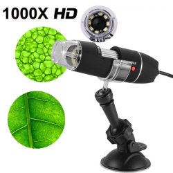 8LED 1000X USB Digital Microscope Endoscope Magnifier Camera Wit one size