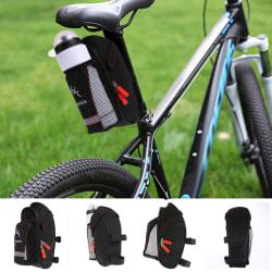 Cykel sadelväska med vattenflaska fickcykel baksätessvans