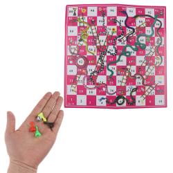 Board Game Snake Ladder Flight Chess Educational Kids Toys Famil