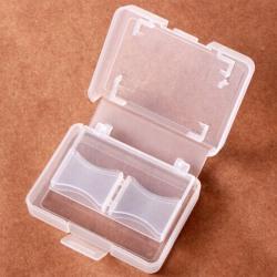 Cf card compact flash memory card holder box storage transparent