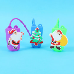 Christmas Cartoon Hand Case Holder Portable Travel Spray Bottles one size