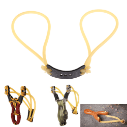 Elastic rubber band bungee replacement for slingshot catapult hu onesize