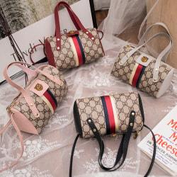 Fashion Handbag Lady Shoulder Bag Tote Purse PU Leather Women Me Gray