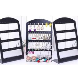 Fashion Jewelry Display Holder L Style Organizer Earrings Displa White 20*12*6
