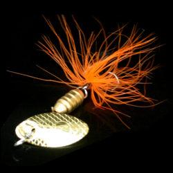 Fishing Lure Spoon Bait perfekt för Bass Trout Abborre gädda rotatin