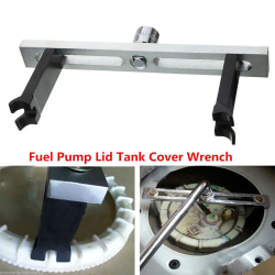 Fuel Pump Lid Tank Cover Remove Spanner Adjustable Wrench Tool F Silver