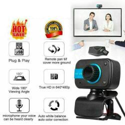 HD Webcam USB Computer Web Camera For PC Laptop Desktop Video C