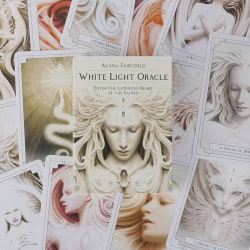 Hidden Worlds Desk Tarot Cards Party Game Divination Party Guida white light