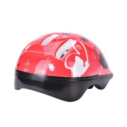 Kids Bike Bicycle Head Helmets Skating Skate Board Girls Boys Pr 粉色
