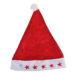 LED Christmas Hat Kids Santa Claus Gifts Cap New Christmas Hats onesize