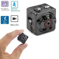 Mini Spy Hidden Camera 1080P Portable Small HD Nanny Cam one size