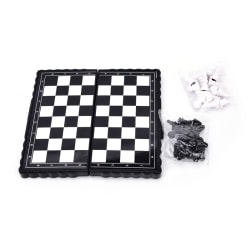portable mini folding magnetic chess set games educational toy f