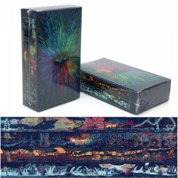 Prisma Tarot cards Deck 79 Cards English 4 Season Mysterious Blu