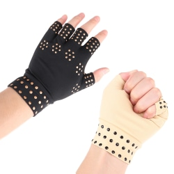 Relief Arthritis Pressure Pain Heal Joints Magnetic Therapy Hand Black