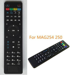 Replacement TV Remote Control for Mag250 254 256 260 261 270 IPT one size
