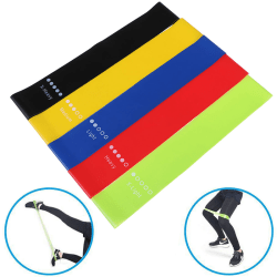 Resistance Bands Rubber Band Workout Fitness Equipment Yoga Trai Bag
