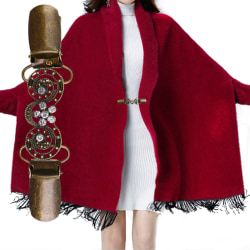 Retro Cardigan Clip Sweater Clip Women Filigree Cinch Back of Dr A