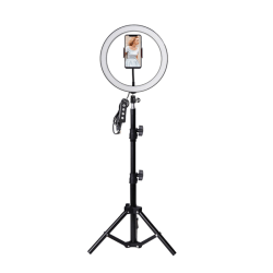 Selfie Ring Fill Light 10in Dimmable Camera Phone 26CM Ring Lamp