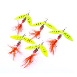 Spinners Fishing Lure Metal Sked Lures hårt bete fiskeutrustning