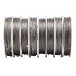 Stainless Steel Craft Wire Many Sizes Coil Accessory Beading DIY 0.8mm