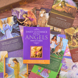 Tarot Cards Daily Guidance Angel Oracle Card Deck Table Game Pla