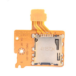 TF Memory Card Slot Socket Reader Replacement for Switch NS Cons one size