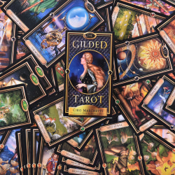 The Gilded Tarot Deck Card Toy Tarot Divination Oracles Guidance