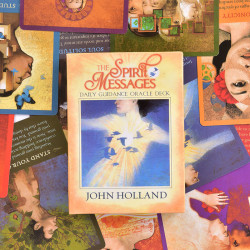 The Spirit Messages Daily Guidance Oracle Deck Tarot Cards Patry Spirit Messages