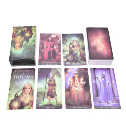 Thelema Tarot Cards Deep Wisdom and the Levity of true Inspirati