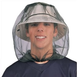 Useful Midge Mosquito Insect Hat Bug Mesh Head Net Face Protecto black