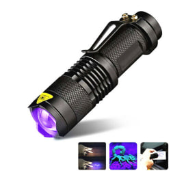 UV Ultra Violet LED Flashlight Blacklight Light 365 nM Inspectio one size