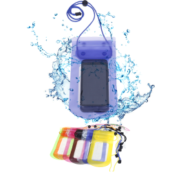 Waterproof Bag Underwater Pouch Dry Case Cover For Cell Phone Transparent