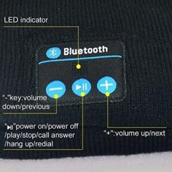 Wireless Bluetooth Sports Headband Headphones Run Gym Sleep Musi Black