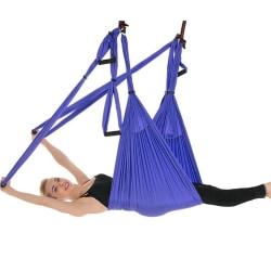 Yoga Swing Trapeze- Anti Gravity Yoga Hammock Inversion for Aeri Purple
