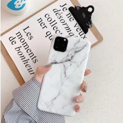 iPhone 12 skal marmor - Vit