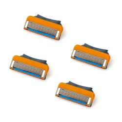 12-Pack rakblad kompatibla till Gillette Fusion /Power