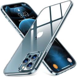 2-Pack iPhone 12 Pro Max - Slimmat genomskinligt skal transparent