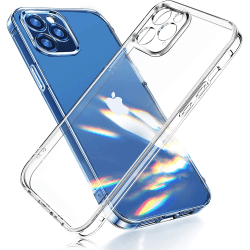 2-Pack iPhone 12 Pro Max - Slimmat genomskinligt skal transparent