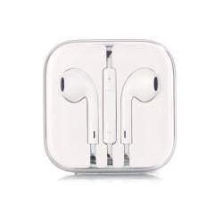 3-Pack Hörlurar med Mikrofon och Volymkontroll vit