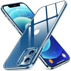 3-Pack iPhone 12 - Slimmat genomskinligt skal transparent