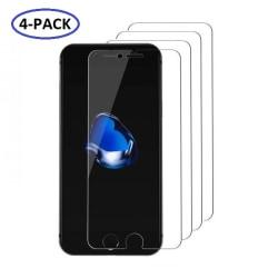 GadgetMe 4-Pack iPhone 6 Plus/6S Plus/7 Plus/8 Plus EXTRA HÅRT