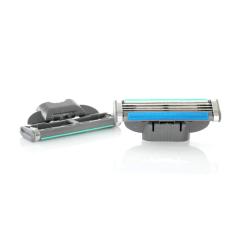 4-Pack rakblad kompatibla till Gillette Mach3