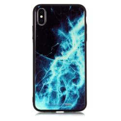 Blixtar iPhone X/Xs skal blå blixt