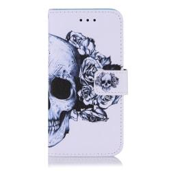 Dödskalle iPhone 12 Mini Plånboksfodral