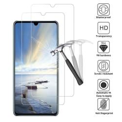 2-Pack Huawei P30 Lite Härdat Glas Skärmskydd GadgetMe