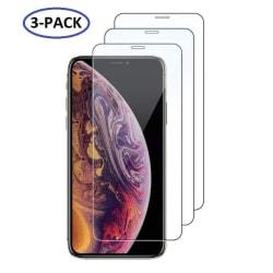 GadgetMe 3-Pack iPhone X/Xs/11 Pro Extra Hårt Skärmskydd Härdat