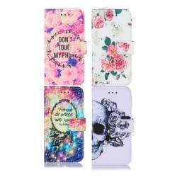 GadgetMe Plånboksfodral för Samsung Galaxy S9 - Flera Motiv Without dream we have nothin
